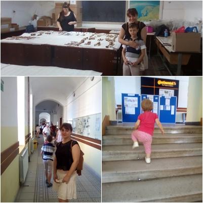 am mers pe holurile Universitatii, am revazut amfiteatreatele, am cercetat oasele in laboratoarele de la Arheologie