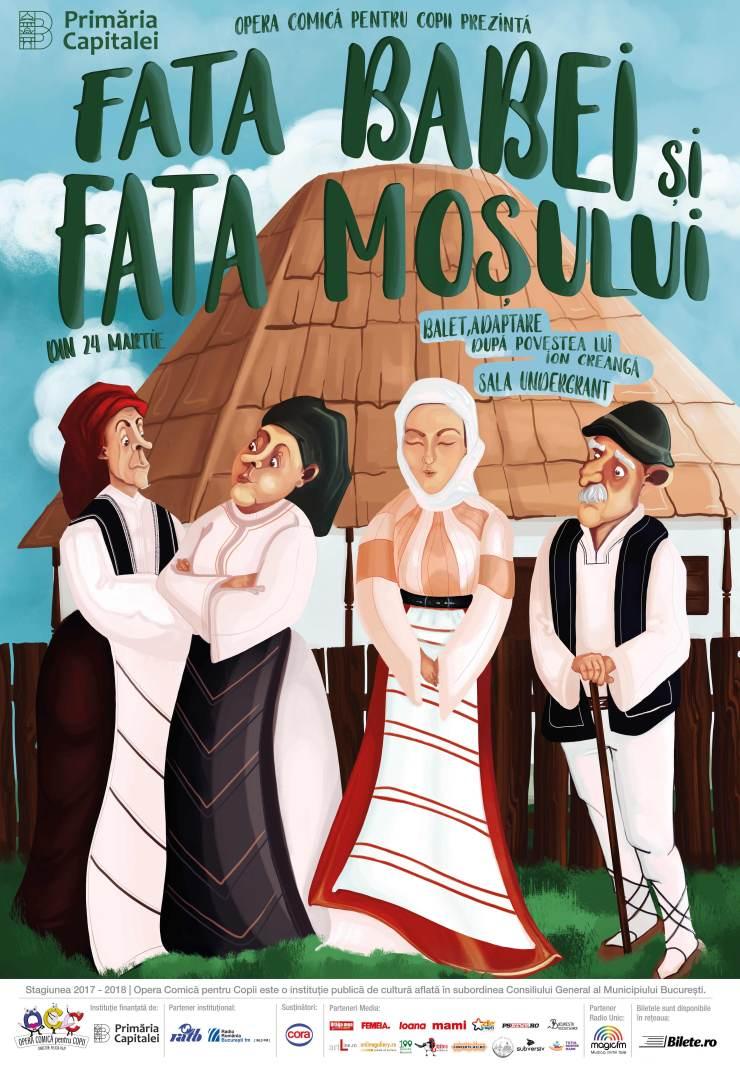 Afis - Fata Babei si Fata Mosului